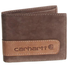 Load image into Gallery viewer, Carhartt Genuine Leather Two-Tone Bifold Wallet With Wing
