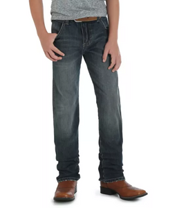 Kid's Wrangler Retro Slim Straight Jean