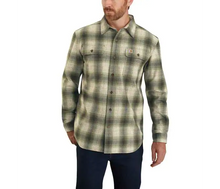 Load image into Gallery viewer, Carhartt Original Fit Flannel Long-Sleeve Plaid Shirt