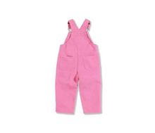 Load image into Gallery viewer, Girl's Infant Carhartt Overalls