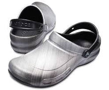 Load image into Gallery viewer, Crocs Bistro Graphic Clog Metallic Silver