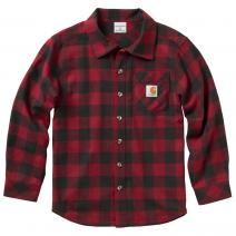 Boy's Long Sleeve Carhartt Flannel