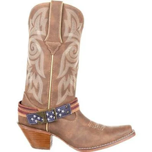 Load image into Gallery viewer, DURANGO® CRUSH™WOMEN'S FLAG ACCESSORY WESTERN BOOT