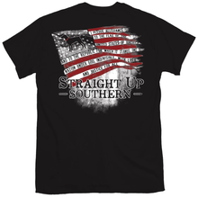 Load image into Gallery viewer, Youth Straight Up Southern Short Sleeve Shirt
