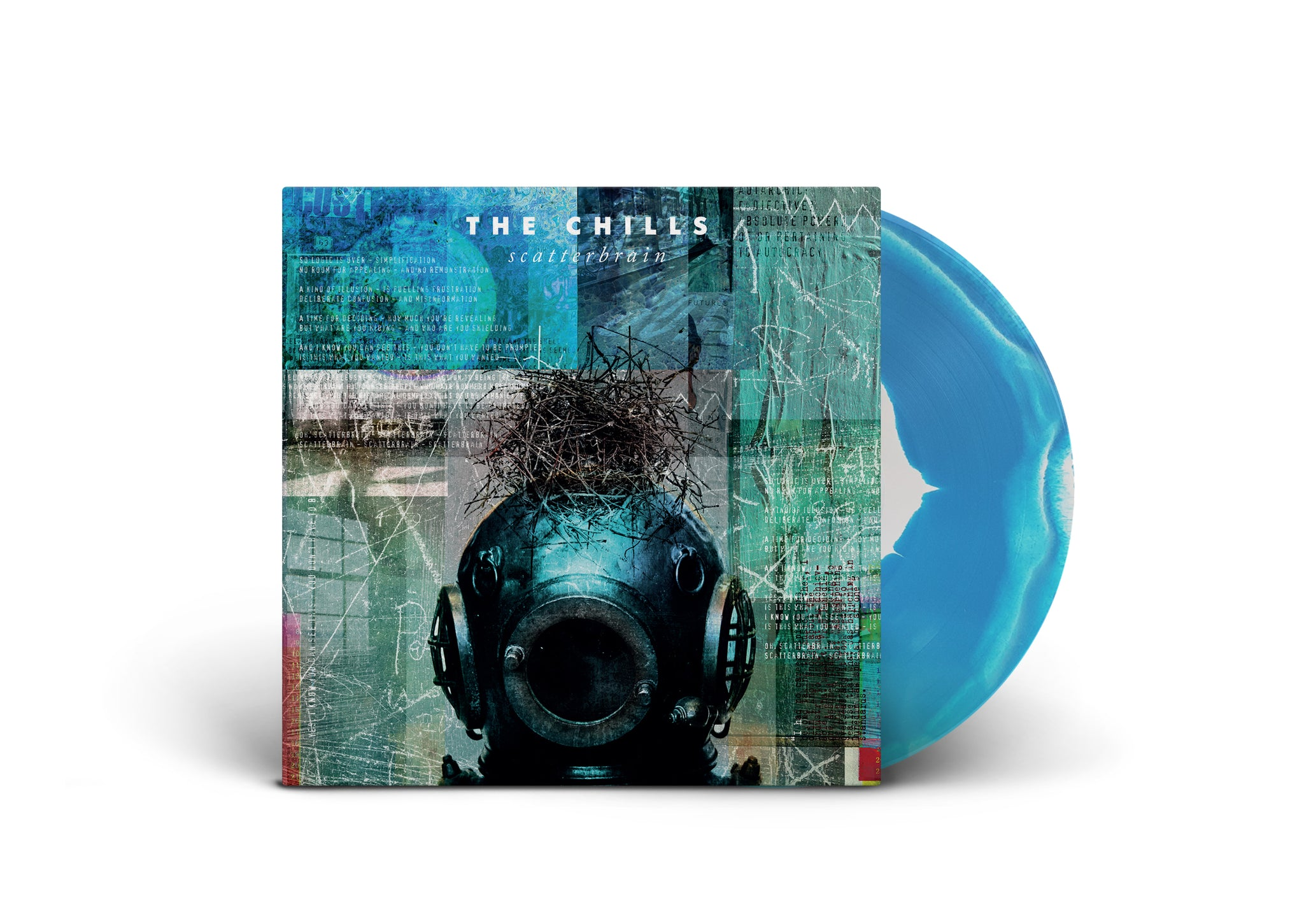 The Chills - Scatterbrain LTD Edition Deep Sea Marble LP