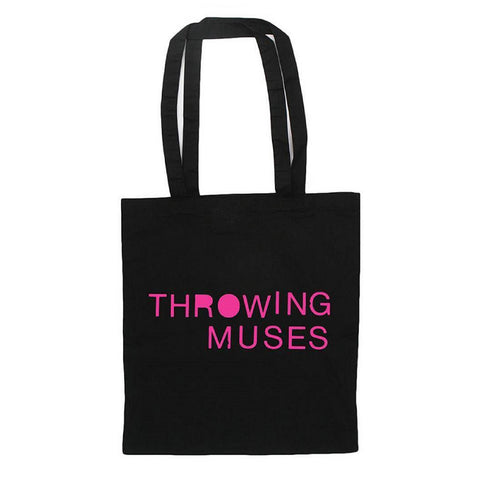 Throwing Muses - 'Pink Logo' Tote
