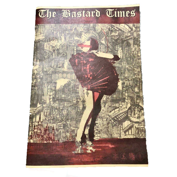 THE BASTARD TIMES LTD EDITION NEWSPAPER