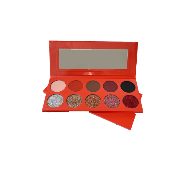 Pallete Royale Make Up Red White