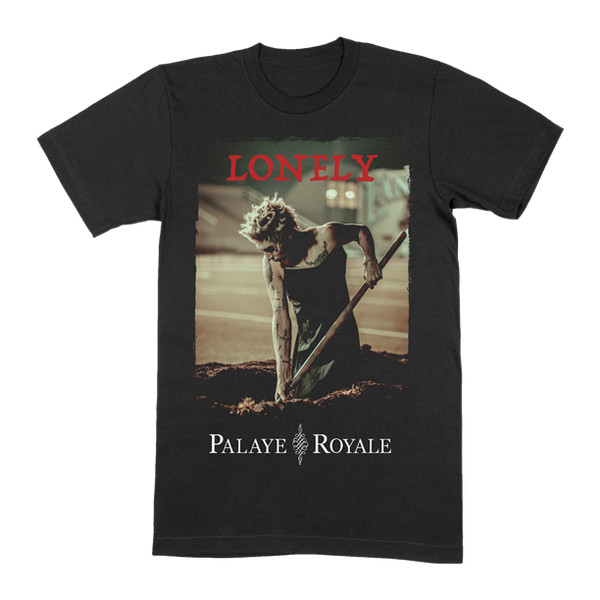 LONELY GRAVE BLACK T-SHIRT