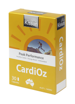 KISSUN CarioOz 30 Capsules (Heart & Energy Support formula)