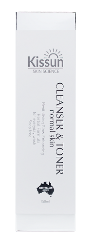 KISSUN Cleanser and Toner  (3 in 1 skin cleanser)