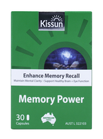 KISSUN Memory Power 30 Capsules (Enhance memory recall)