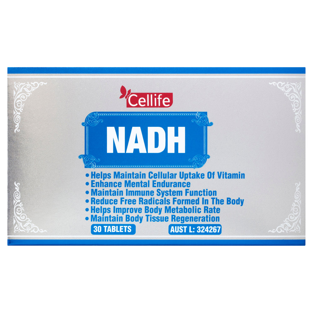Cellife NADH 30 Tabs