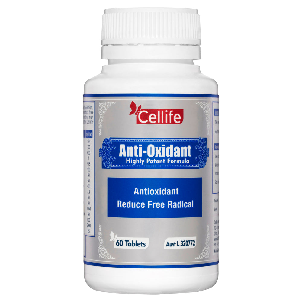 Cellife Antioxidant 60 Tabs