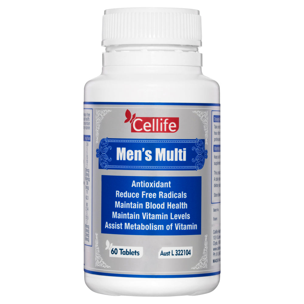 Cellife Men's Multi 60 Tabs