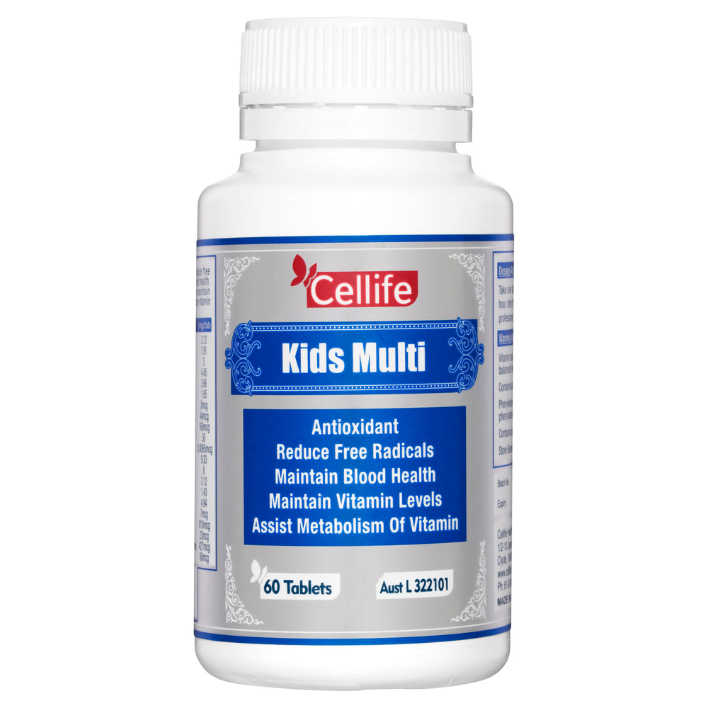 Cellife Kids Multi 60 Chewable Tablets