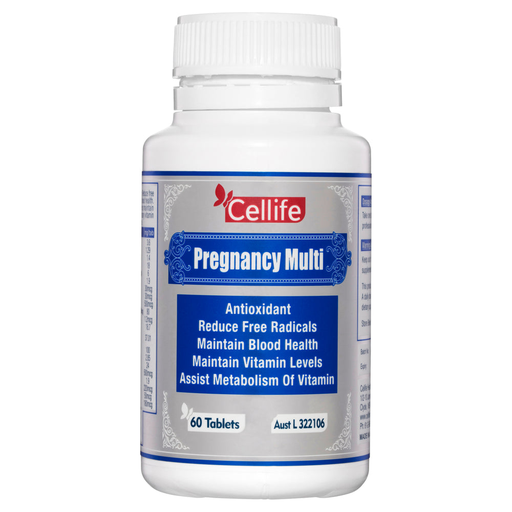 Cellife Pregnancy Multi 60 Tabs