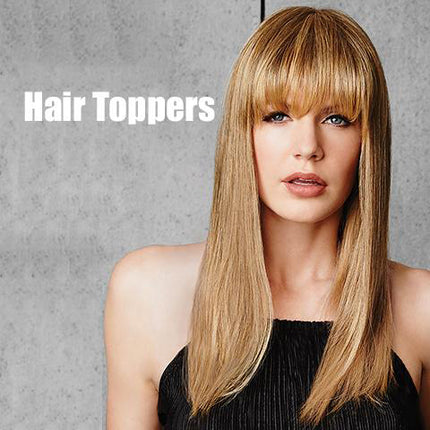1. Synthetic Hair Toppers