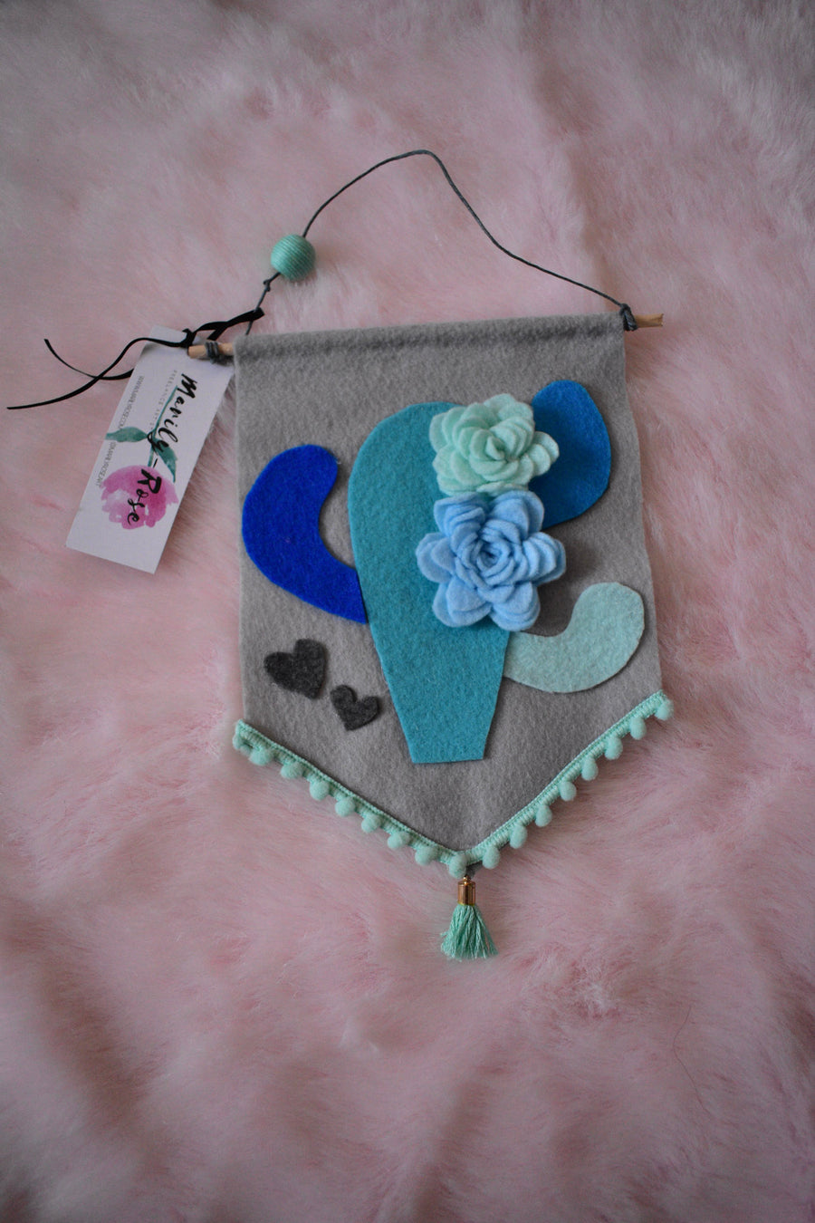Felt Banners | Blue Felts