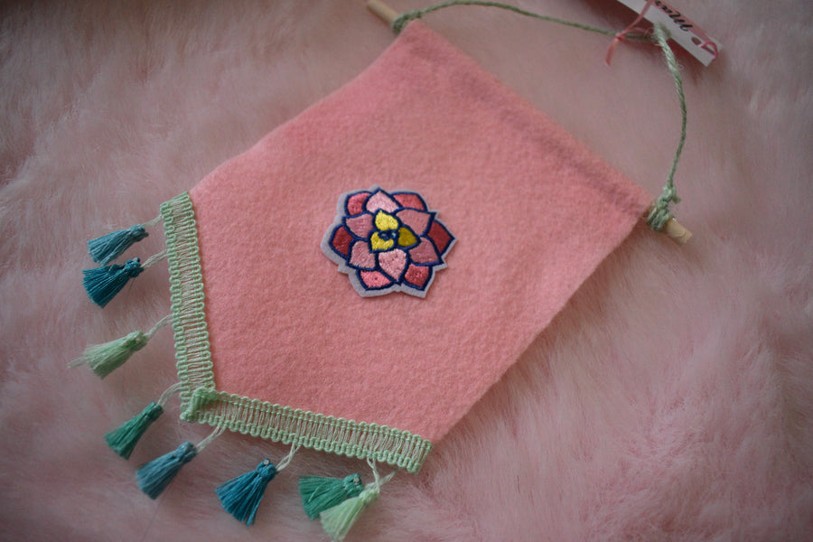Felt Banner | Cacti Patches