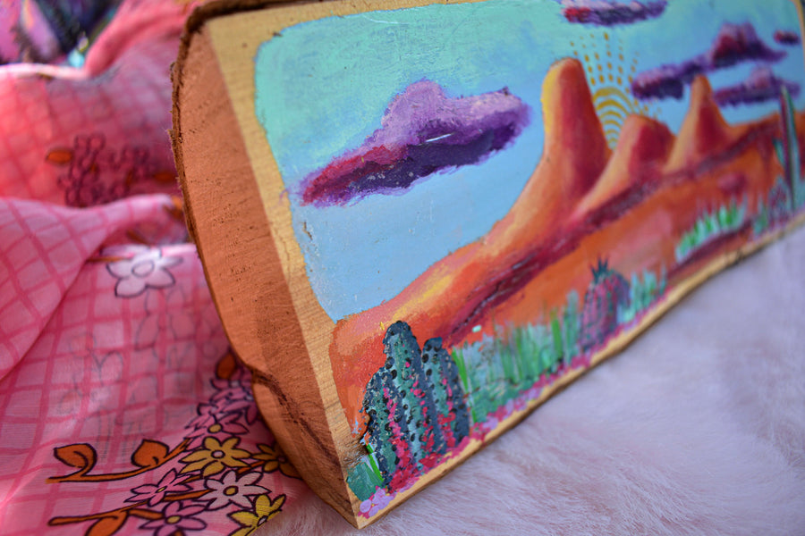 Original Painting on Wood | 2017 Landscapes