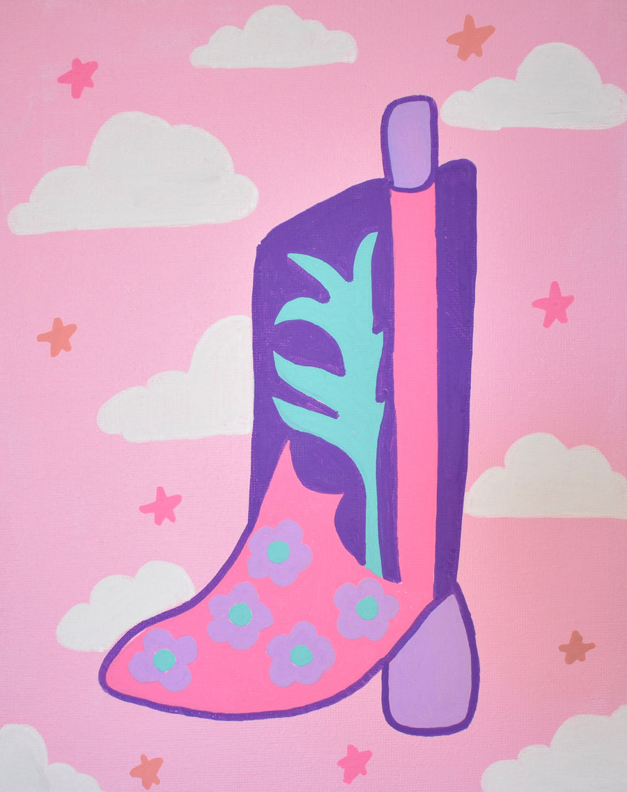 Original Painting | Boots