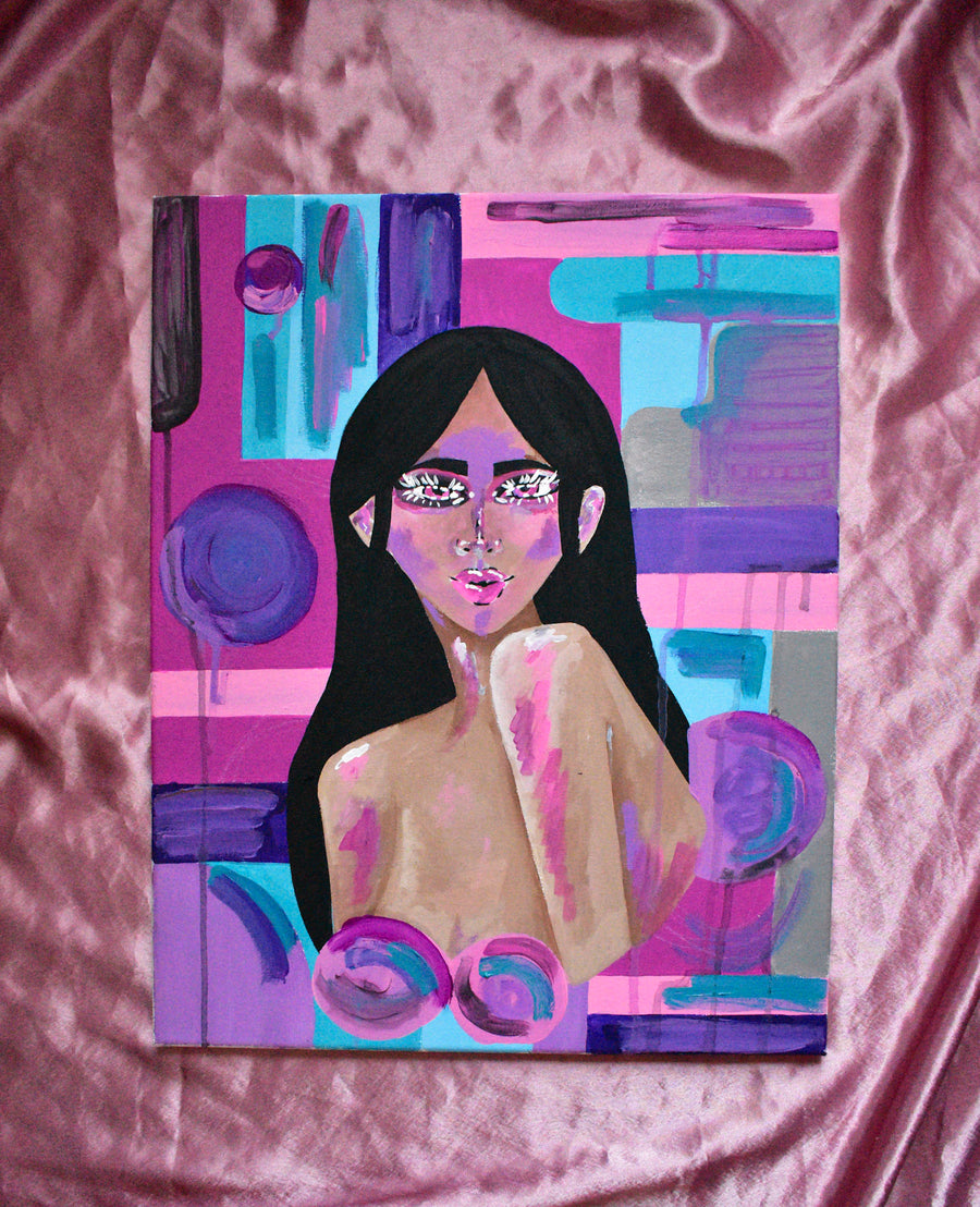 Original Painting | Abstract Woman
