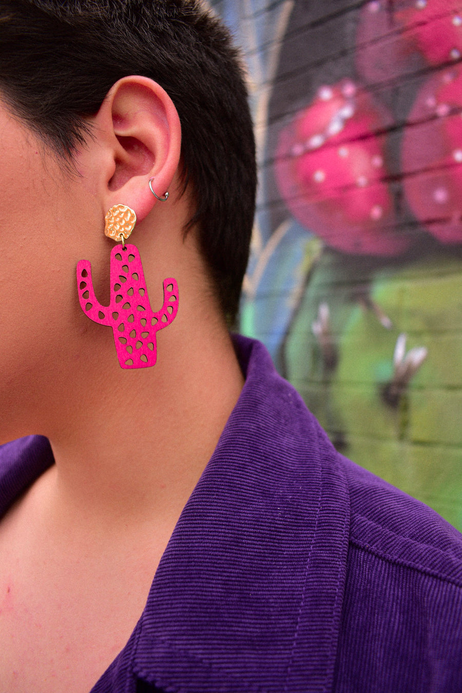 Cacti Earrings | Holy Cacti Studs