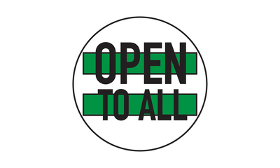 Proud Member of Open to All