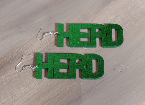 HERD Glitter Acetate Earring