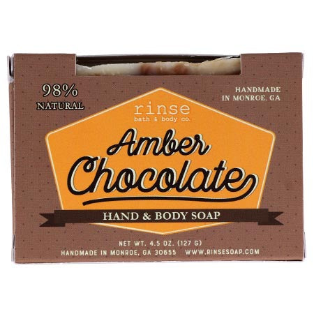 RINSE Amber Chocolate Soap