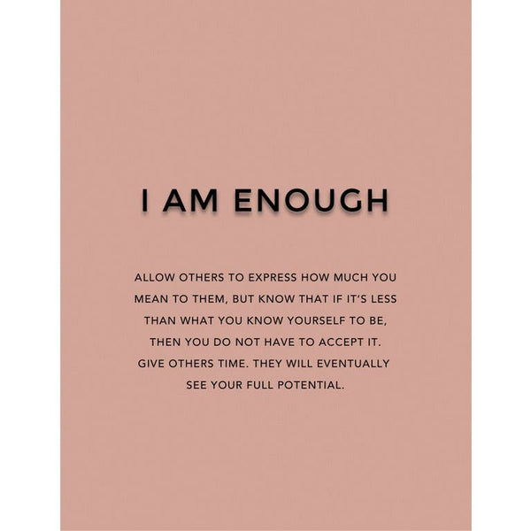 I Am Enough - Dark Natural Matte Lipstick
