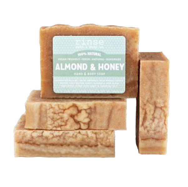 RINSE Almond and Honey Soap