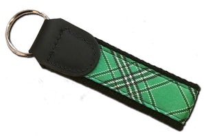 Marshall University Tartan Key Fob