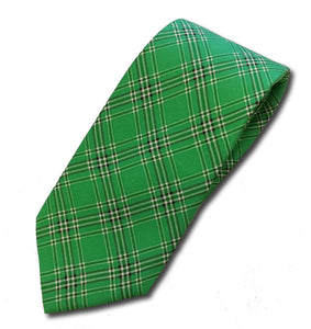 Marshall University Tartan Silk Necktie