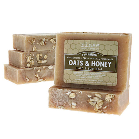 RINSE Oats & Honey Soap