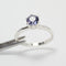 Color-Changing Alexandrite 925 Sterling Silver Ring / Engagement-Style