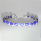 Cornflower Blue Star Sapphire Tennis Bracelet 925 Sterling Silver / Oval-Shaped