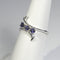 Natural Iolite 925 Sterling Silver Ring / Mother's Ring