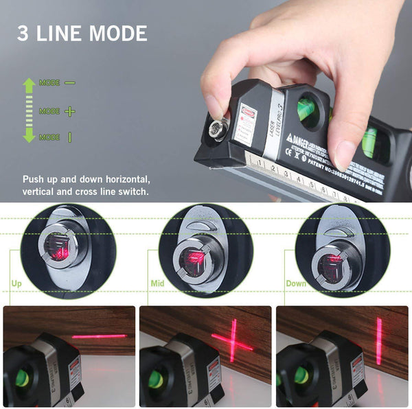 (Holiday carnival 40% OFF)3D Green Beam Laser Level