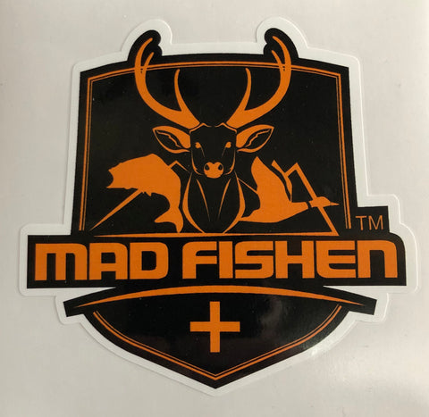 MAD Fishen Logo Decal