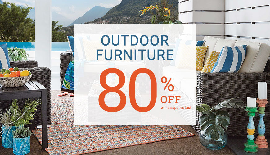 Outdoor Furniture 80% Off