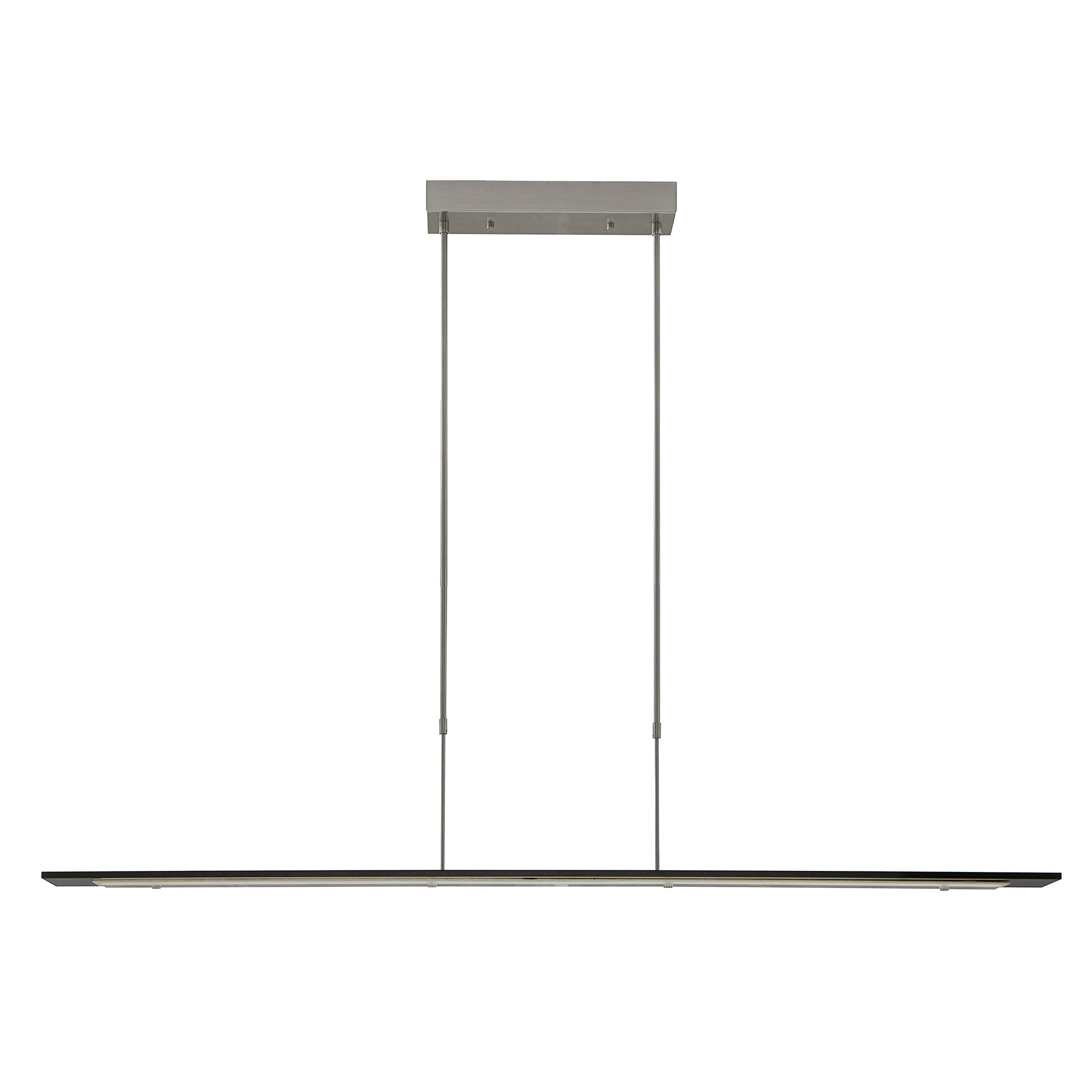 Modern Light Rods LED Pendant - Black Finish