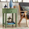 Oval Nightstand - Meadow Green