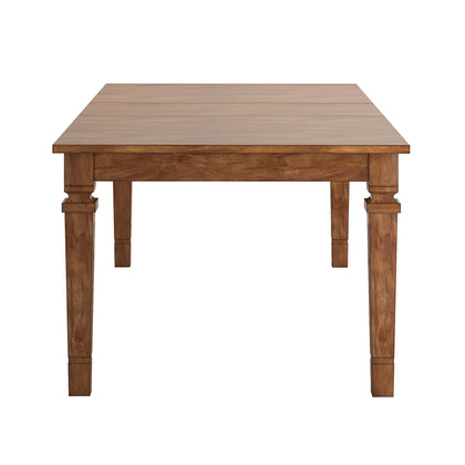 Solid Wood Extendable Dining Table - Oak