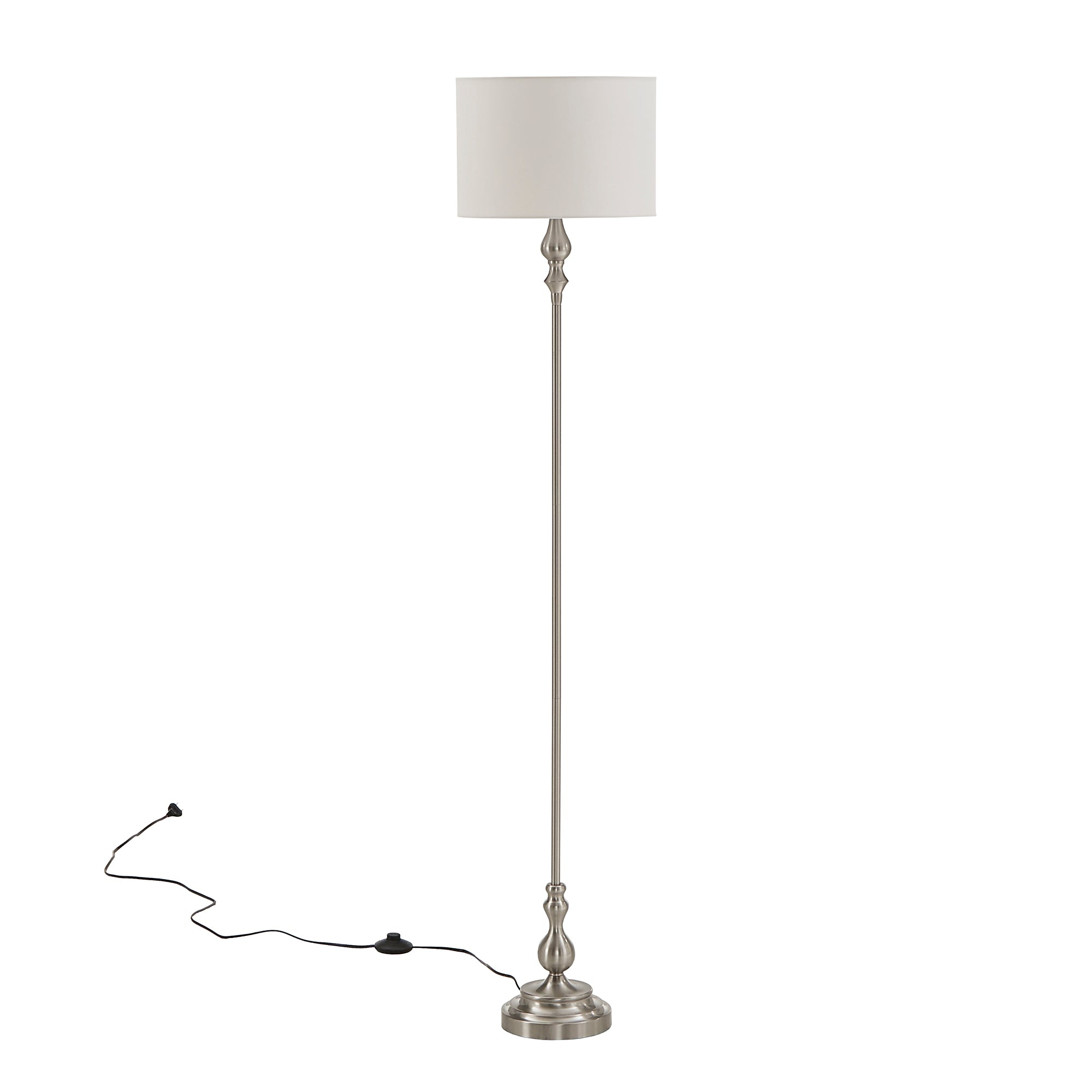Modern Drum Shade Floor Lamp