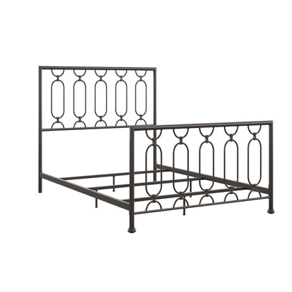 Metal Bed - Dark Bronze, Full Size (Full Size)