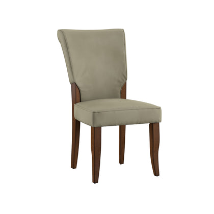 Velvet Upholstered Dining Chairs (Set of 2) - Olive