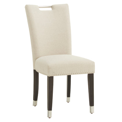 Heathered Weave Parson Dining Chair (Set of 2) - Armless