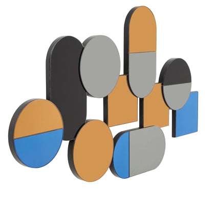 Multiple Shape and Color Decorative Wall Mirror